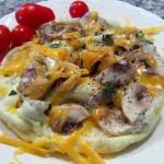 Naked Shroom Omelet