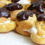 Decadent Cream Puffs with Chocolate
