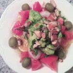 Mediterranean Salad with Avocado