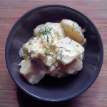 Double Mustard Lemon Potato Salad