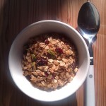 Golden Fruit and Nut Granola